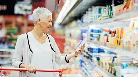 étiquetage étiquette supermarché