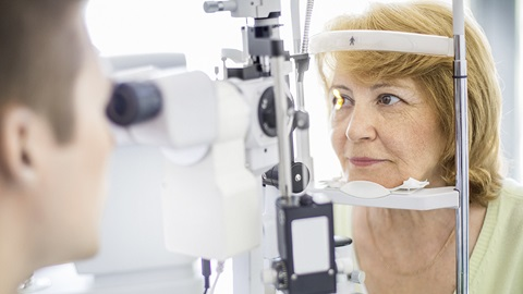Glaucome examen ophtalmologique