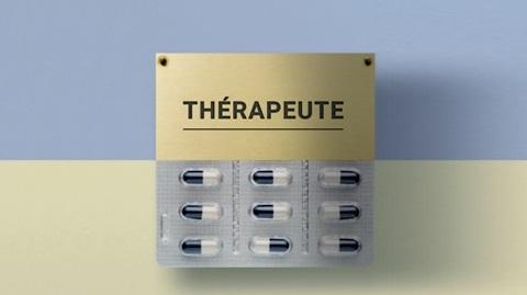 Thérapeute au lieu de somnifères