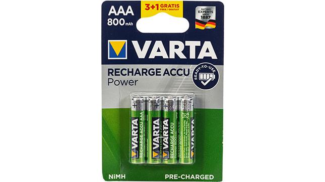 Recharge Power Accu 800 AAA