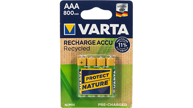 Recharge Accu Recycled  800 AAA