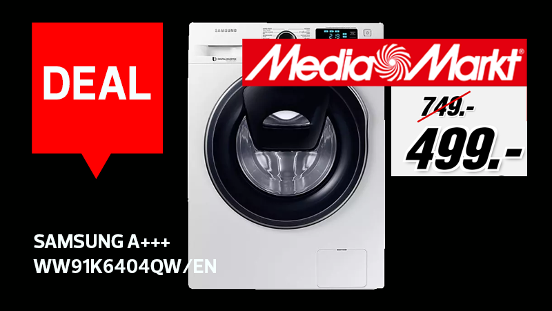 Black Friday deal : un lave-linge Samsung à 499€ chez ...