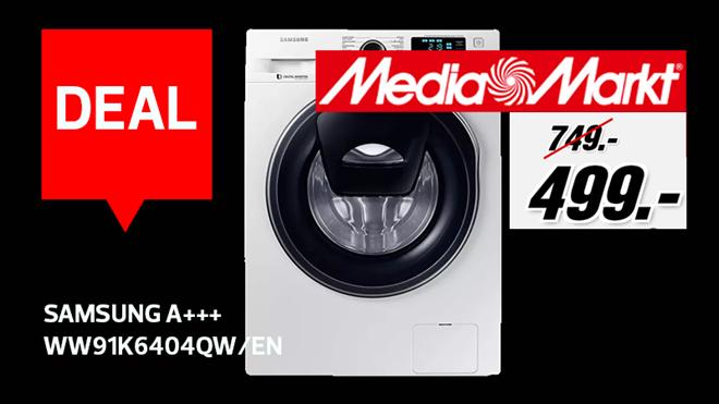 Black Friday deal : un lave-linge Samsung à 499€ (-250€)