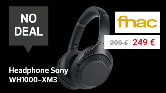 Le casque Sony en promo à la Fnac ? No deal: vous pouvez le trouver moins cher ailleurs