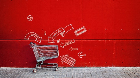 Caddie supermarché