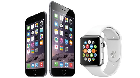 iphone 6 - apple watch