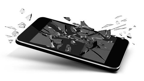 Réparations d'écrans de smartphone cassés