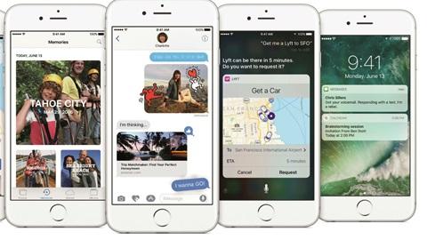 Quelles nouveautés offre iOS 10