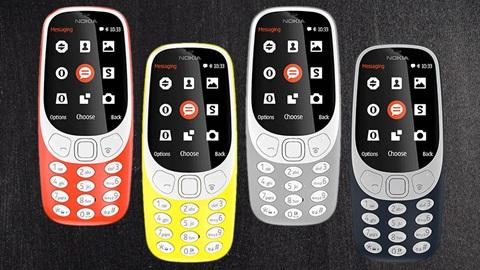 Nokia 3310 gsm smartphone