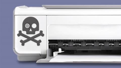 imprimante trop vite usée