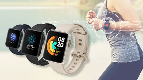 Mi Watch Lite de Xiaomi : son prix fait mouche, pas son capteur cardiaque