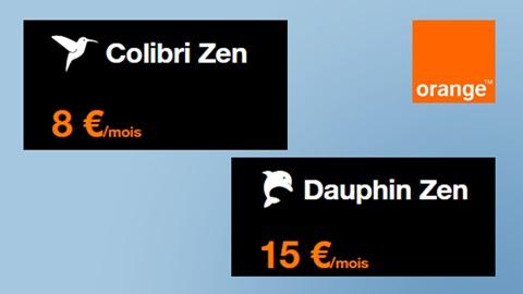 Ecran avec Colibri Zen et Dauphin Zen