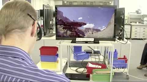 Test de TV dans les coulisses du labo