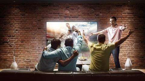 Supporters et foot à la télé