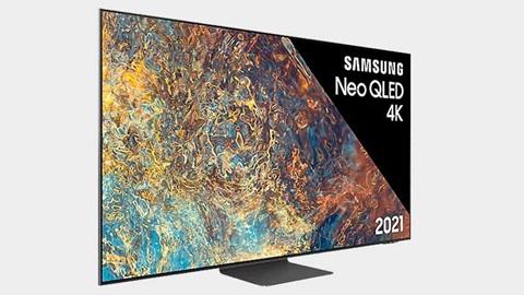 Le nouveau téléviseur QN95 de Samsung.