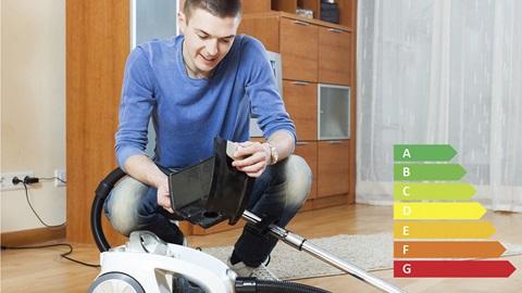 L'étiquette énergie pour les aspirateurs