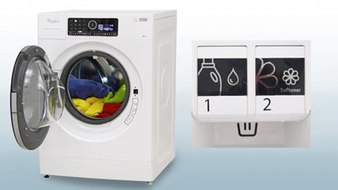 Whirlpool FSCR 12432 machine à laver