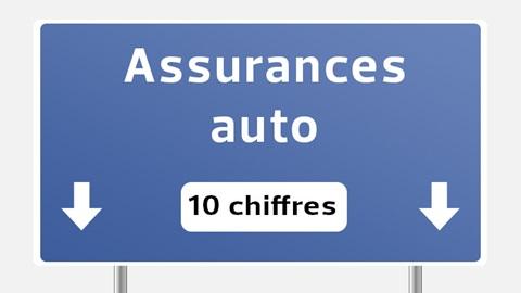 Assurances auto en 10 chiffres : infographie