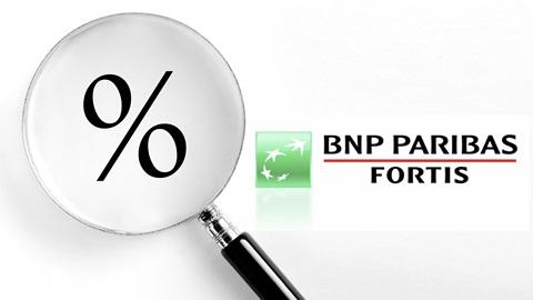 Aucun intérêt sur les comptes à vue BNP Paribas Fortis
