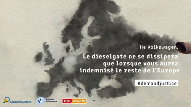 Le Dieselgate a 5 ans, et toujours pas l'ombre d'un euro pour la Belgique
