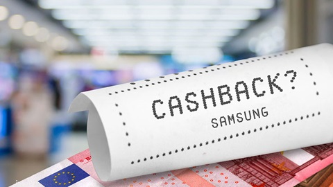 Cash back Samsung