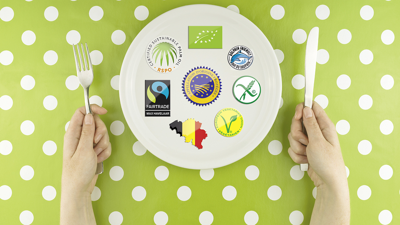 Labels alimentaires