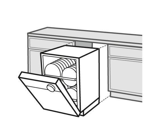Comparer les lave vaisselle for Pose d un lave vaisselle encastrable