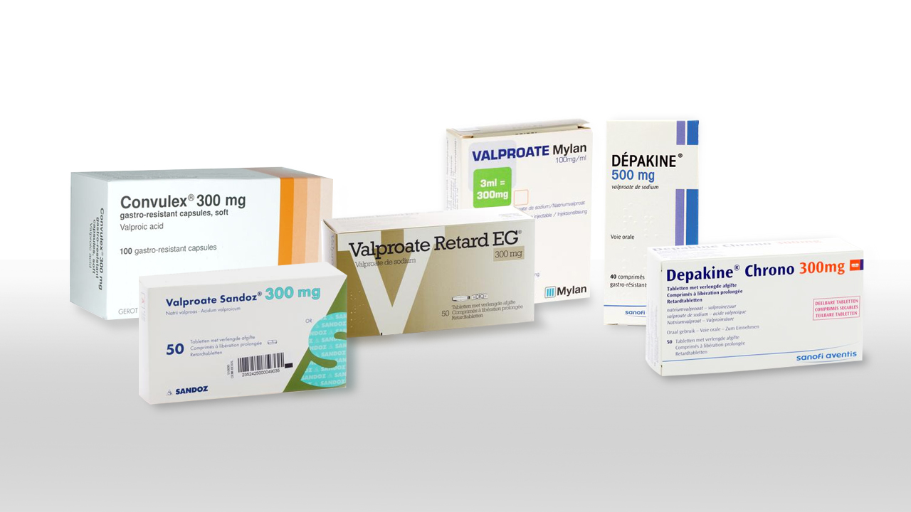 Valproate médicaments