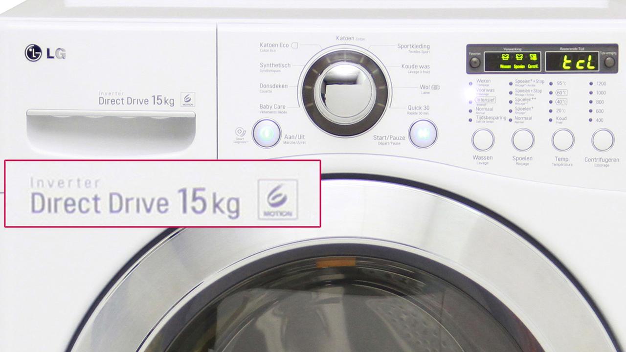 Le nouveau LG lave bien 15 kg de linge: utile pour vous ?