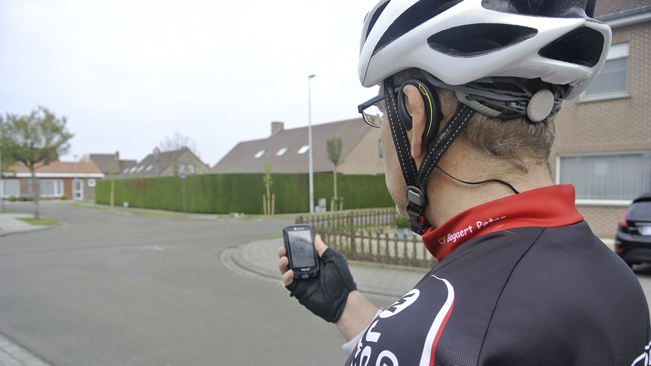 Rouler à vélo avec le guidage vocal de Bryton