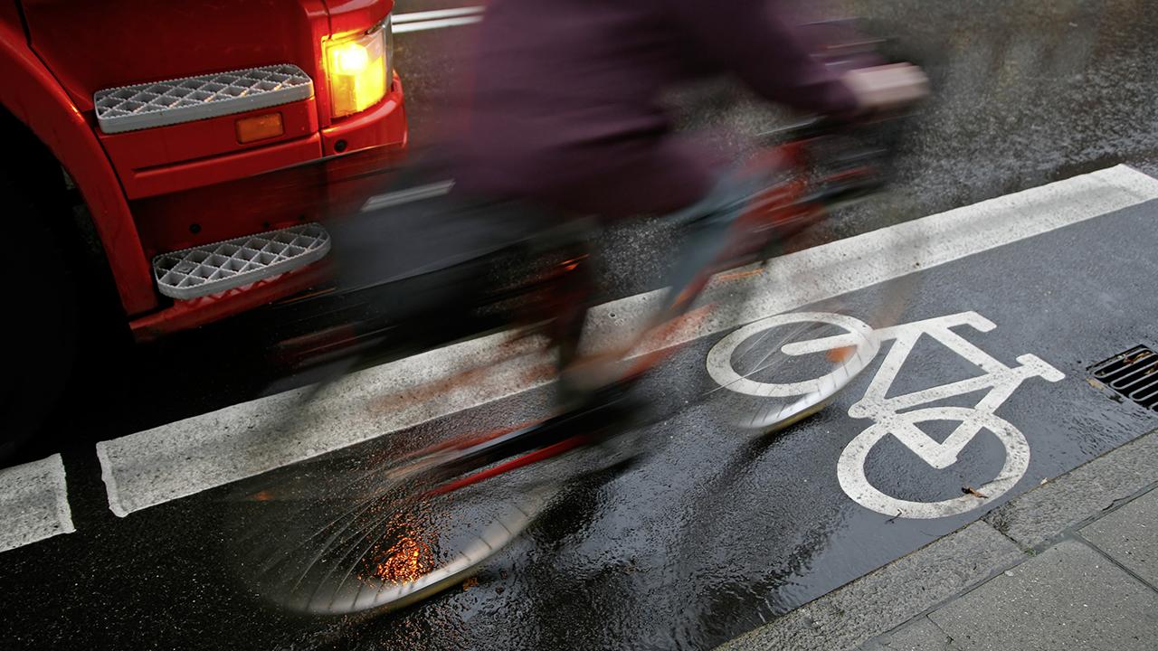 Le radar pour cycliste tente de prévenir les accidents