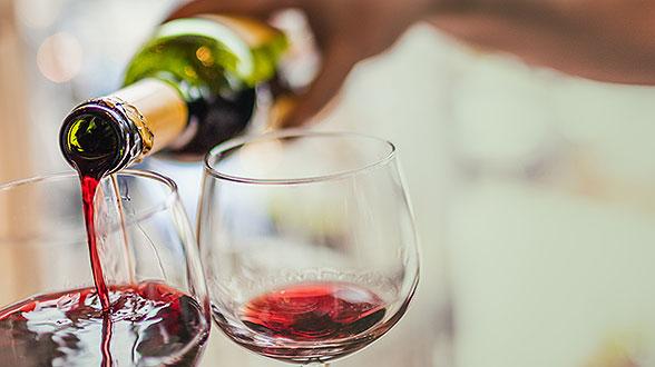 calories dans vin