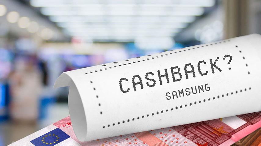 Cash back Samsung